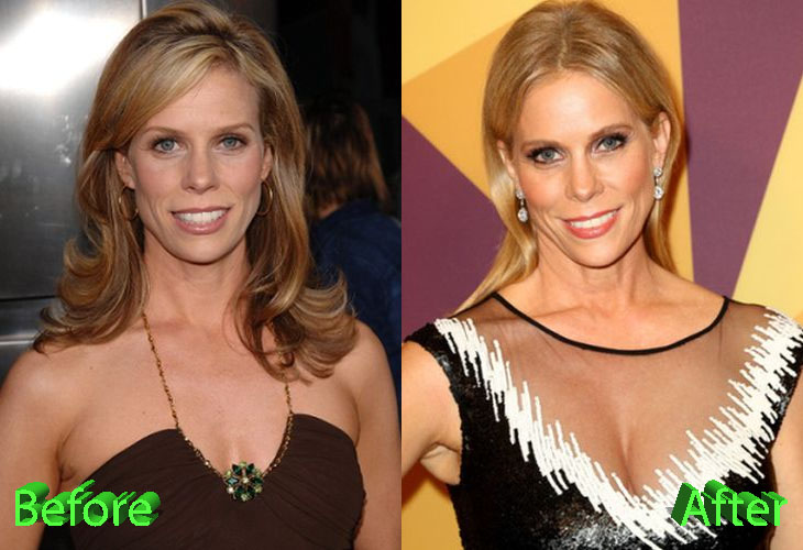 Cheryl Hines posed with both her hubbies - second husband Robert F.